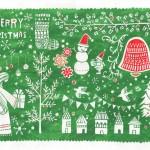 切り絵 メリークリスマス