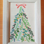 「Tree of herbs」 13.1cm x 18cm