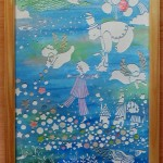 「Festival inthe dream」 23cm x 31.8cm