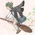 「魔法使いの男の子」 21×29.7cm(A4)