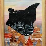 「Messenger of night」 23cm x 31.7cm