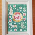 「Noel」 13.1cm x 18cm