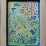 「Spring Garden」 21cm x 15.9cm
