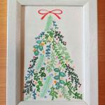 「Tree of herbs」 13.1cm x 18cm